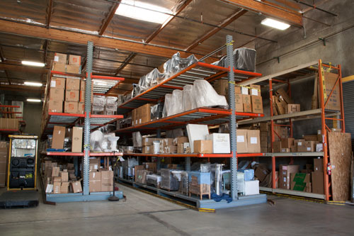 Secure Storage Warehouse
