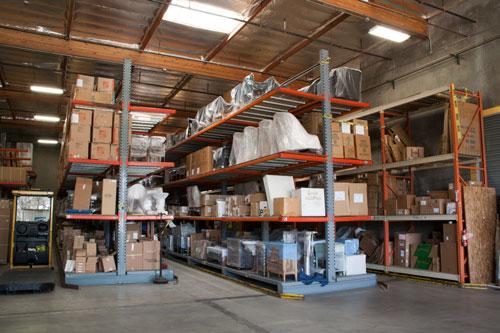 Secure Storage Warehouse